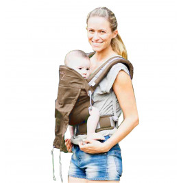 LLA Baby carrier P4 Babysize Chocolate