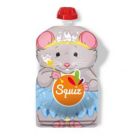 Water bottle reusable unit Mouse Carnival Squiz