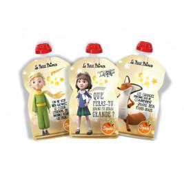 Lot de 3 gourdes réutilisables Squiz le Petit Prince Etoiles