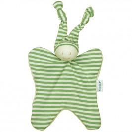 Blanket organic cotton-Green Keptin 25 Cm