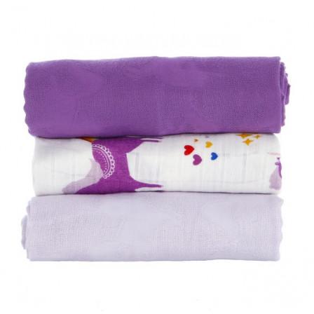 Blanket lot de 3 maxi langes Tula Prance