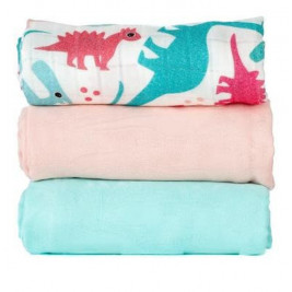 Blanket lot of 3 maxi-langes Tula Tulaceratops