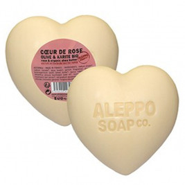 Soap Heart of Pink Olive & organic Shea Tadé