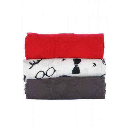 Lot de 3 couvertures Tula Hipster Set
