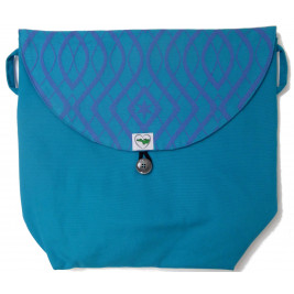 Sac 3-Way-Bag Arabeske Caerula Teal de Buzzidil