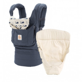 Ergobaby Original Baby Carrier Bundle of Joy Marine