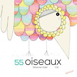 55 oiseaux, livre pour enfant