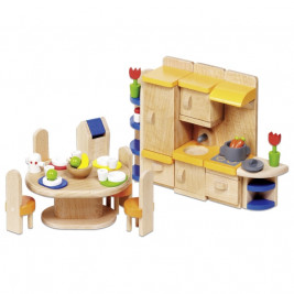 Dolls furniture kitchen wood Goki