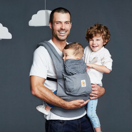 Ergobaby Original Grey Gingham