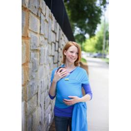 Boba Wrap Turquoise - Écharpe de Portage Extensible