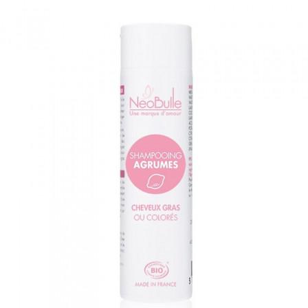 Shampoing bio Agrumes Néobulle Cheveux gras ou colorés