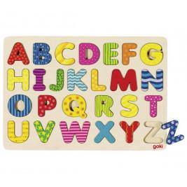 Alphabet Puzzle wooden GOKI