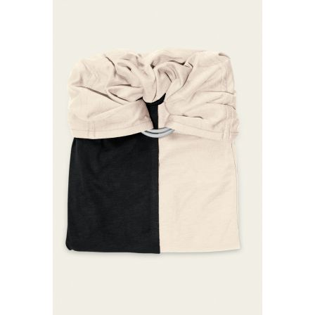 JPMBB Little no-tie Wrap Black - Ecru