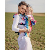 Baby carrier Lennylamb Butterfly Rainbow light