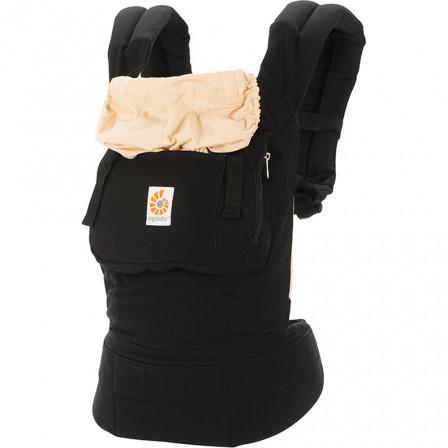 Ergobaby Original Baby Carrier Bundle of Joy Black - Camel