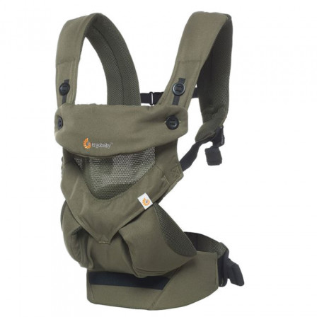 Baby carrier Ergobaby 360 Cool Air Green Khaki