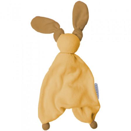 Doudou Coton Bio Floppy Peppa pierre marron