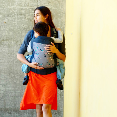 Baby carrier Beco Toddler salmon