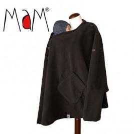 Aïska Mam Poncho de portage Noir