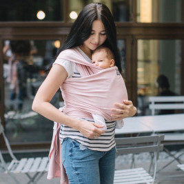 Love And Carry Stretchy Baby Wrap Orchid
