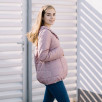 Love And Carry Coat Babywearing and Pregnancy Light Pink