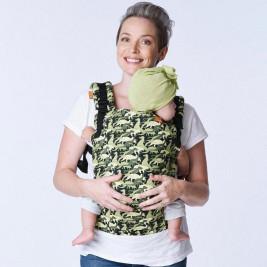 TULA Toddler Camosaur Porte-Bambin