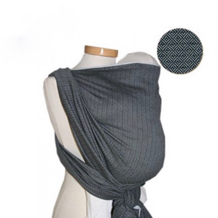 Storchenwiege Wrap Leo Grey 4,60 m
