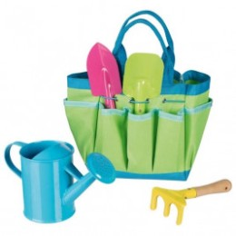Garden tools with bag