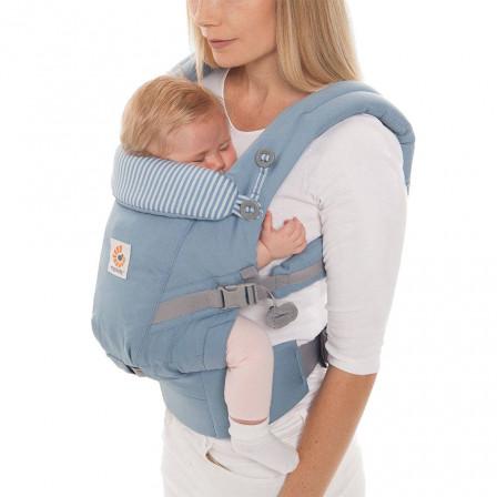 Ergobaby Adapt Bleu Azur - Porte-bébé Évolutif