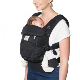 Ergobaby Adapt Cool air Mesh Noir Onyx