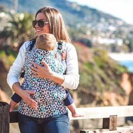 Beco Toddler Geo Teal Blue - Porte-bébé