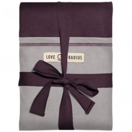 The original JPMBB Baby Wrap Plum, pocket Light Grey