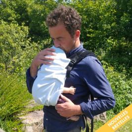 Néobulle Néo V2 Nuage Anthracite Série Limitée Naturioù - Porte-bébé