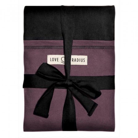 The original JPMBB Baby Wrap Black, pocket Plum