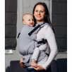 Lennylamb LennyUpGrade Standard Basic Line Selenite Grey - baby carrier
