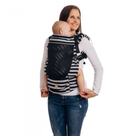 Lennylamb LennyUpGrade Standard Light and Shadow - baby-carrier-ventilated
