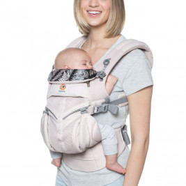 Ergobaby Omni 360 Cool Air Mesh-Pale-Pink - baby-carrier Expandable 4 Positions
