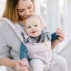 Ergobaby Omni 360 Cool Air Mesh Rose Pâle - Porte-bébé Évolutif 4 Positions