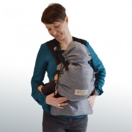 BabyCarrier Storchenwiege Black And White.