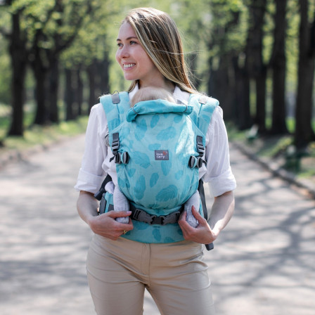 Love and Carry ONE Turquoise - baby-carrier physiological