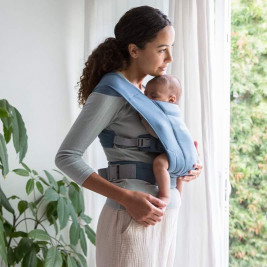 Ergobaby Embrace Bleu Gris - Porte-bébé Nouveau-né
