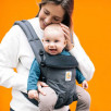 Ergobaby Omni 360 Charcoal Black - baby carrier Expandable 4 Positions