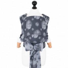Fidella Fly-Tai Cupcake Kiss Myrtille (Taille Bébé) - Porte-bébé meï-taï