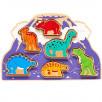 Lanka Kade World of dinosaurs to form Toy - wood