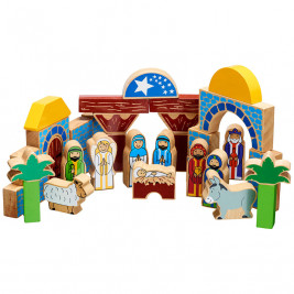 Lanka Kade building Block manger Christmas - Toy wood