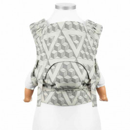 Fidella FlowClick Tri-Cubic gray - baby-carrier Halfbuckle