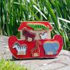 Lanka Kade Noah's Ark shape Toy wooden