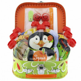 Squiz Valisette Jungle Coffret Cadeau 9 Gourdes
