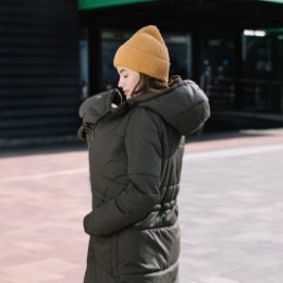 Love and Carry Manteau de portage et de grossesse V2 Kaki