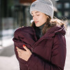 Love and Carry Coat babywearing and pregnancy V2 Marsala